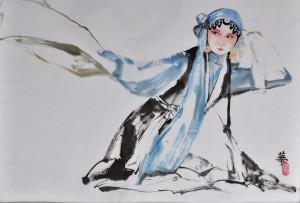 Ηθοποιός της Όπερας του Πεκίνου